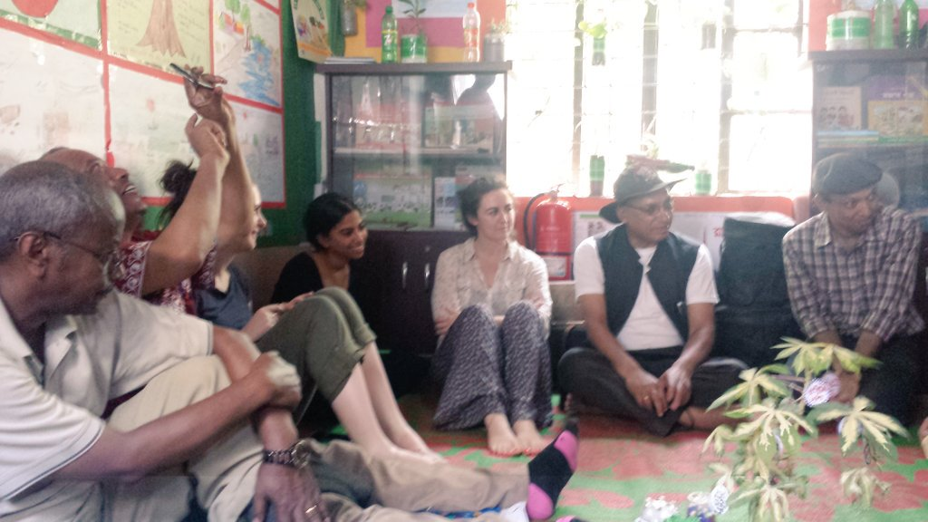 Meeting #youth club learning about #climatechange  #cba10 @SCinBD https://t.co/WxuXI9DviG