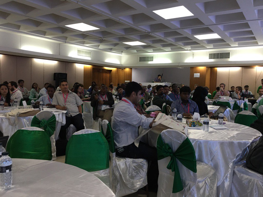 Day 2 of #CBA10 about to start @ICCCAD in Dhaka https://t.co/RDs2elSePr