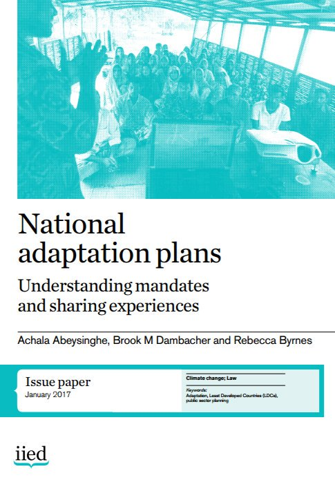 DOWNLOAD: National Adaptation Plans: understanding mandates and sharing experiences - https://t.co/mwNy48T5cq #CBA11 #NAPexpo https://t.co/CT1FrNKDlA