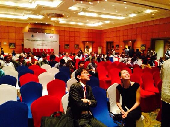 Participants getting ready for closing session of CBA8 #CBA8 http://t.co/brkOUWgZRA