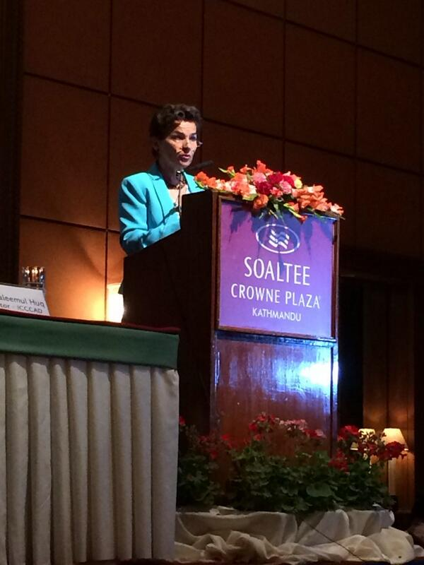 """the funds are insufficient but we have to use them in a way that inspires donors"" @CFigueres @adaptationfund #CBA8 http://t.co/uLuikRYfrP"