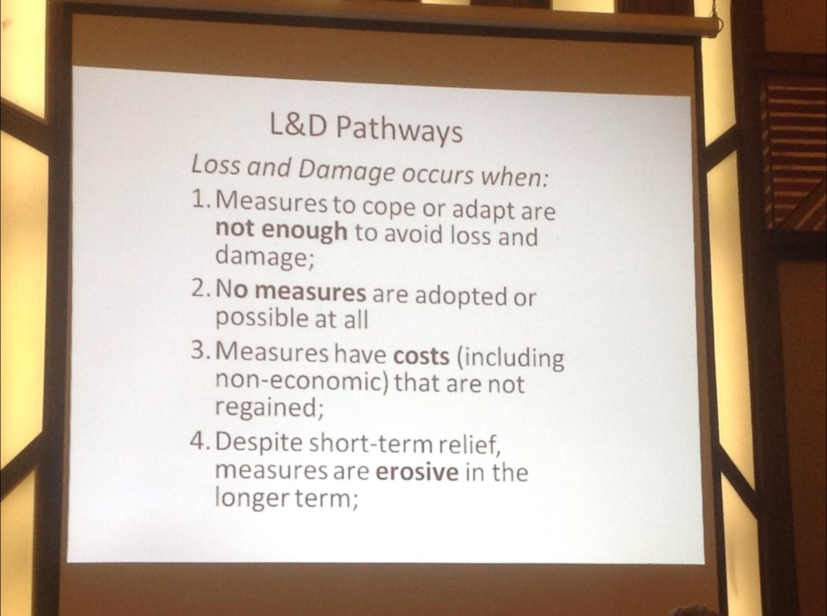 Four ways to describe loss and damage #CBA9 http://t.co/mOXGeCXvtO