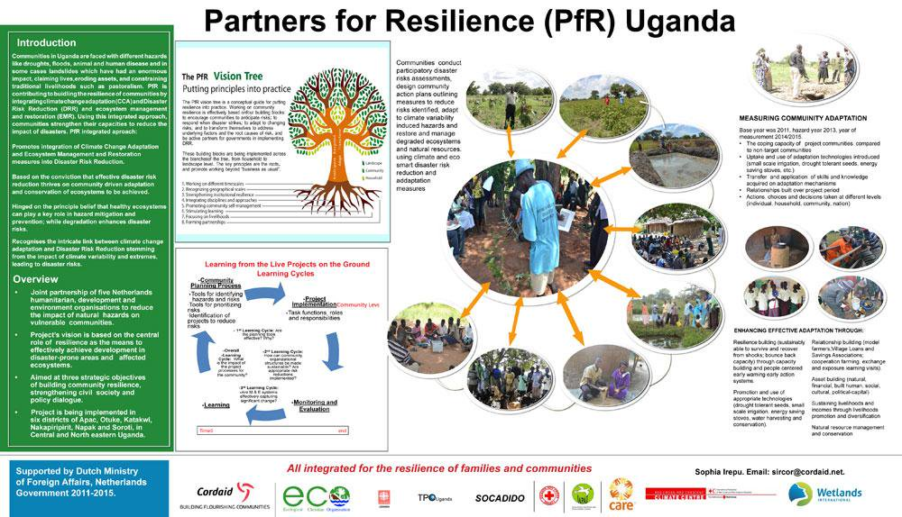 The #CBA9 poster competition results are in! And the winner is...  Partners for Resilience, Uganda #CBA9 http://t.co/ats4OUDwFF