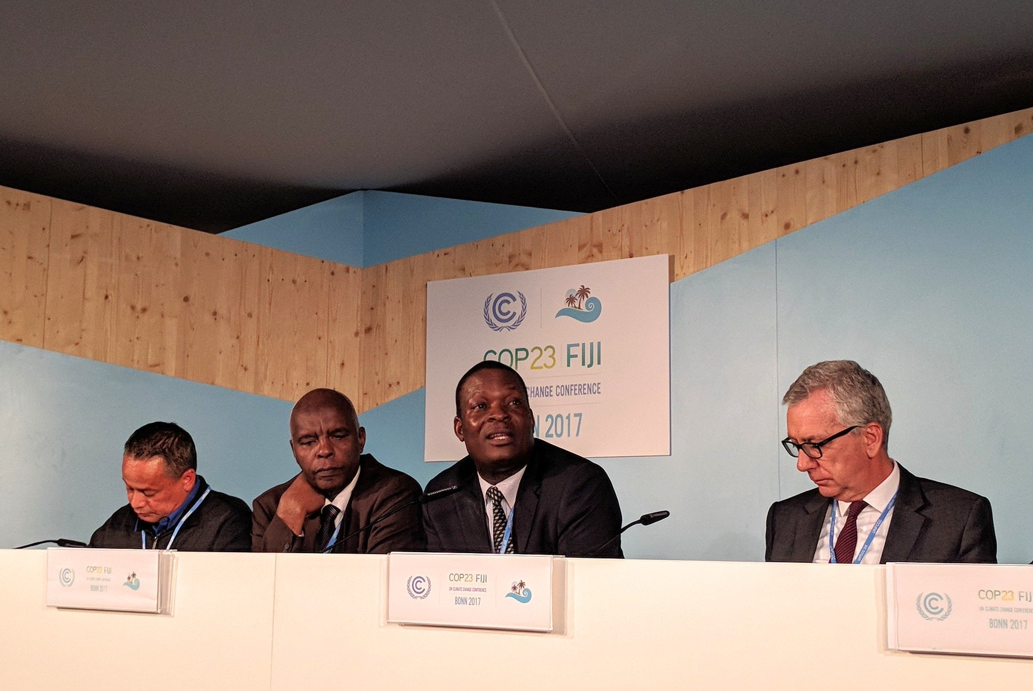 Odhengo: in Kenya, climate action comes at the county & sub-county level. But we need a fund to deliver these actions at scale. #cop23 https://t.co/BwO5SUliQb