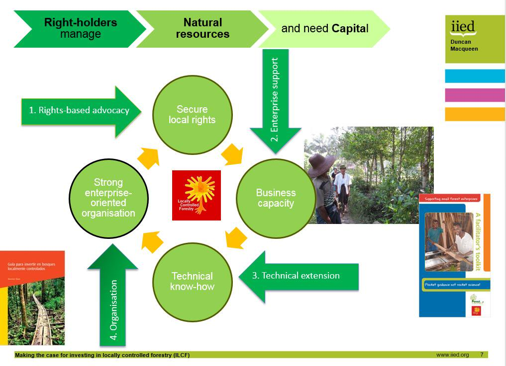 In contrast, locally controlled #forestry is about securing local rights, building business capacity & tech knowhow http://t.co/nuyt59Z7qW