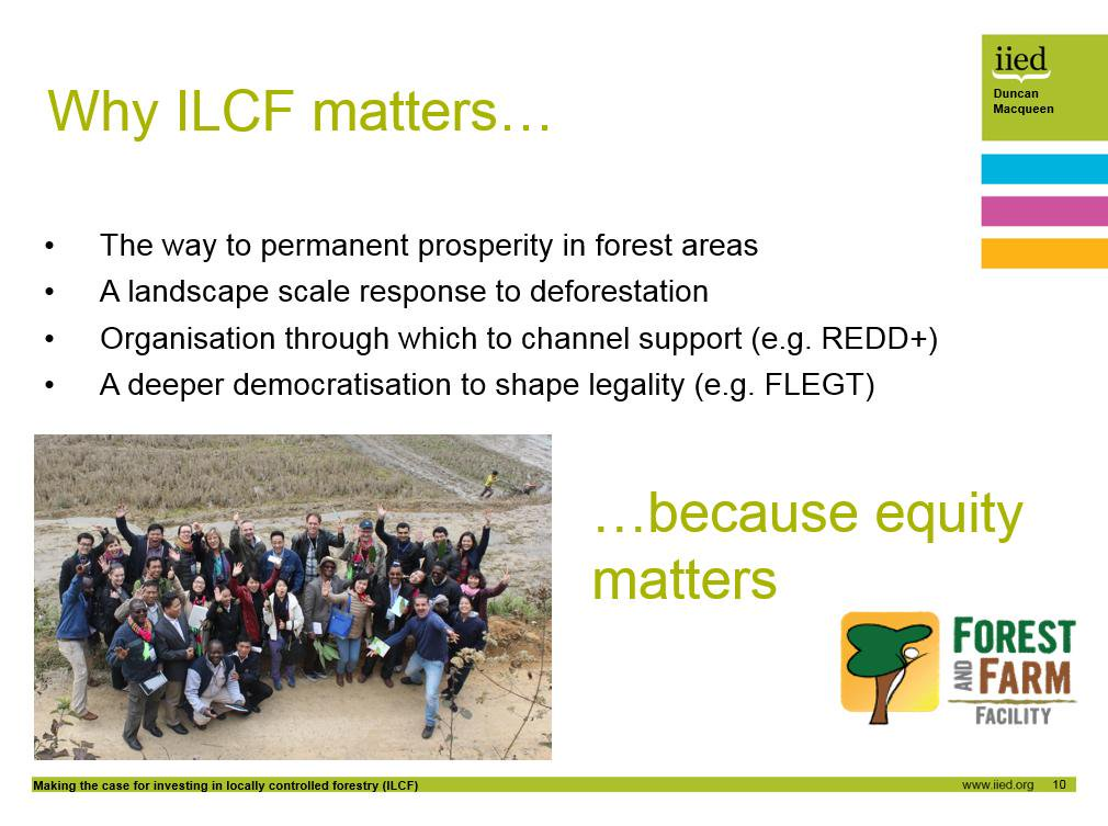Why does investing in locally controlled #forestry matter?   Because equity matters.   #forests http://t.co/fXxqnFykPy