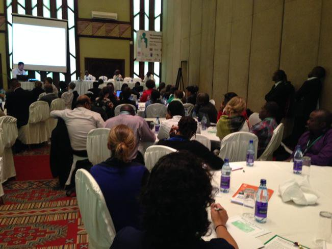 Packed parallel meeting on Climate Information by @IDRC_AFRIQUE at #CBA9 http://t.co/qfUJRD4KX9