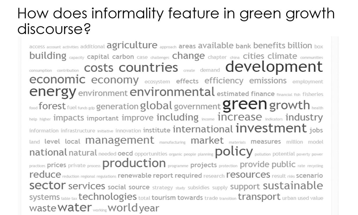 How does informality feature in green growth discourse? #GlobalBPS @GECoalition https://t.co/OudfDhiDn2